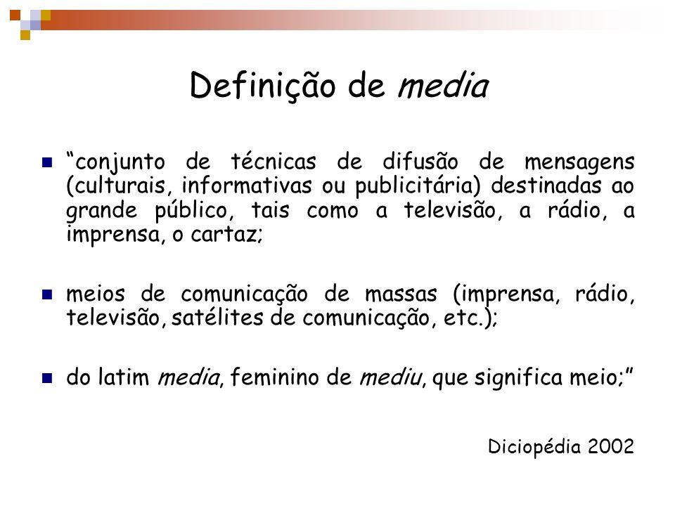 Definição de media