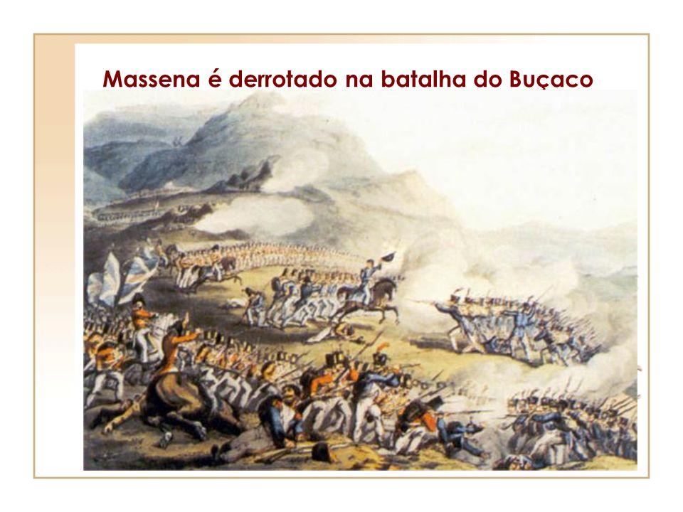 Massena é derrotado na batalha do Buçaco