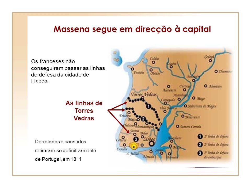 Massena segue em direcção à capital