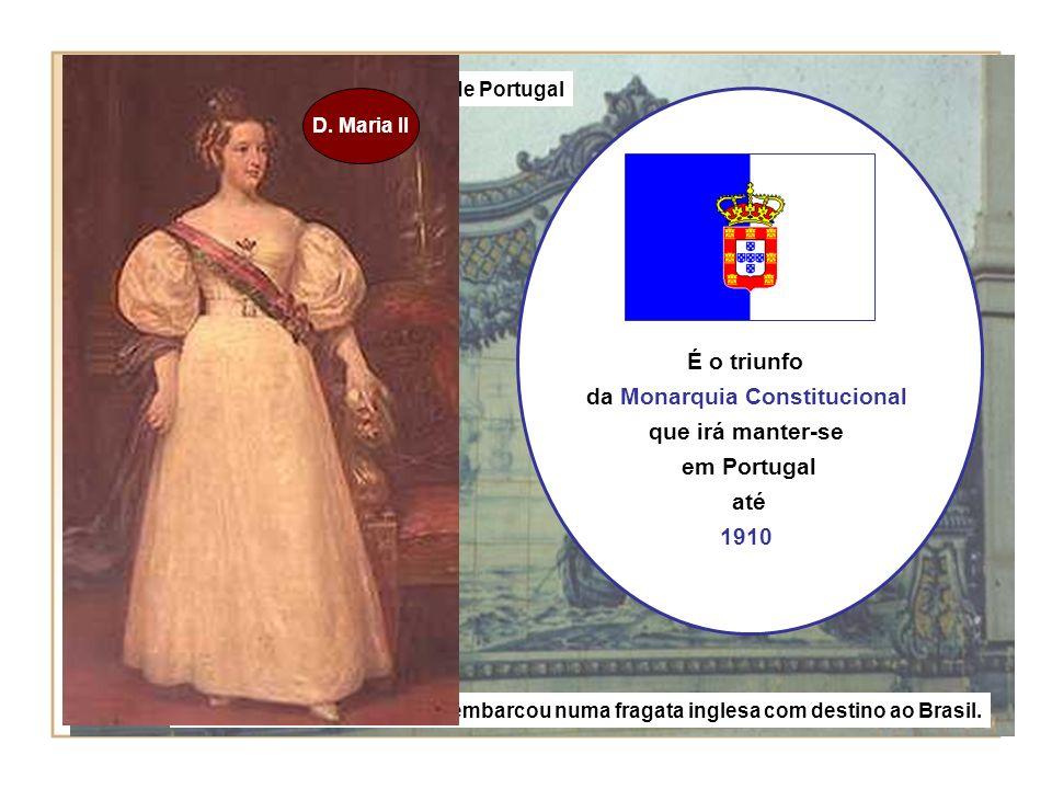D.Miguel foi expulso de Portugal da Monarquia Constitucional