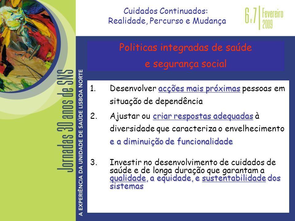 Politicas integradas de saúde e segurança social