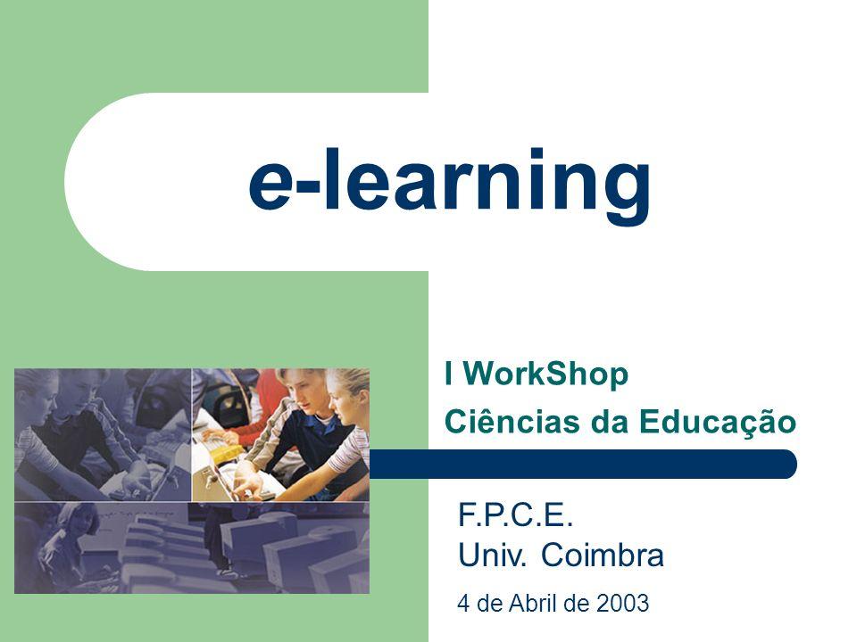 I WorkShop Ciências da Educação