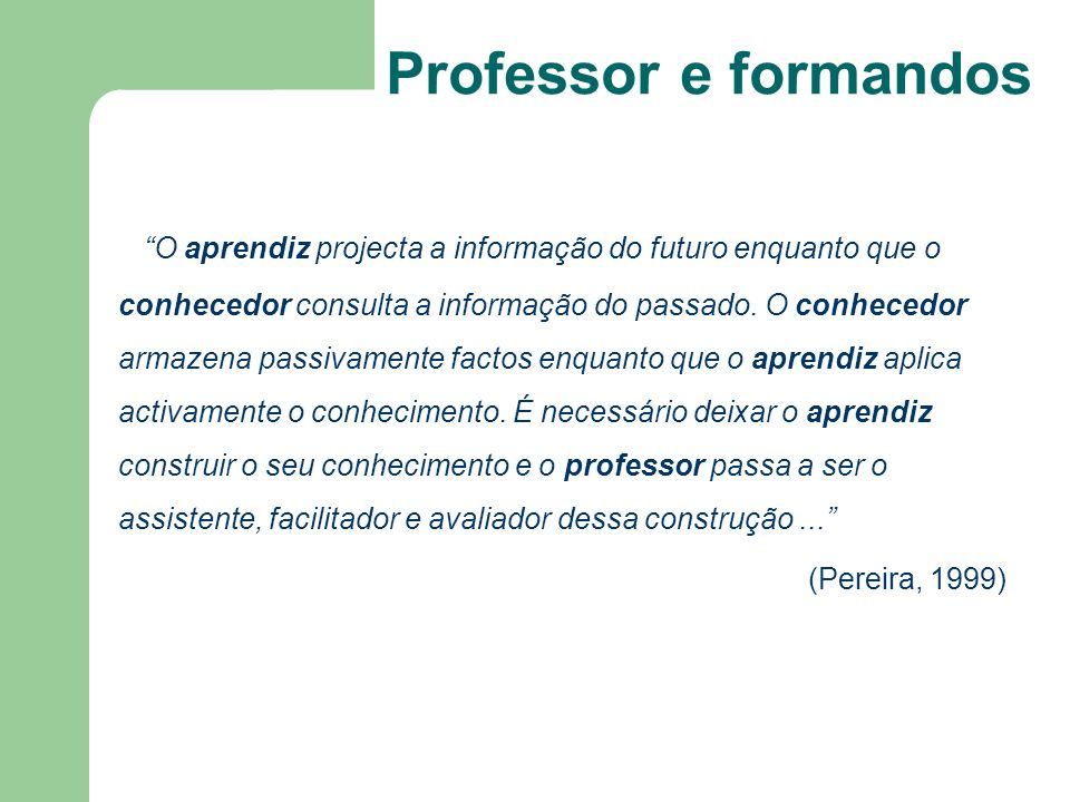 Professor e formandos