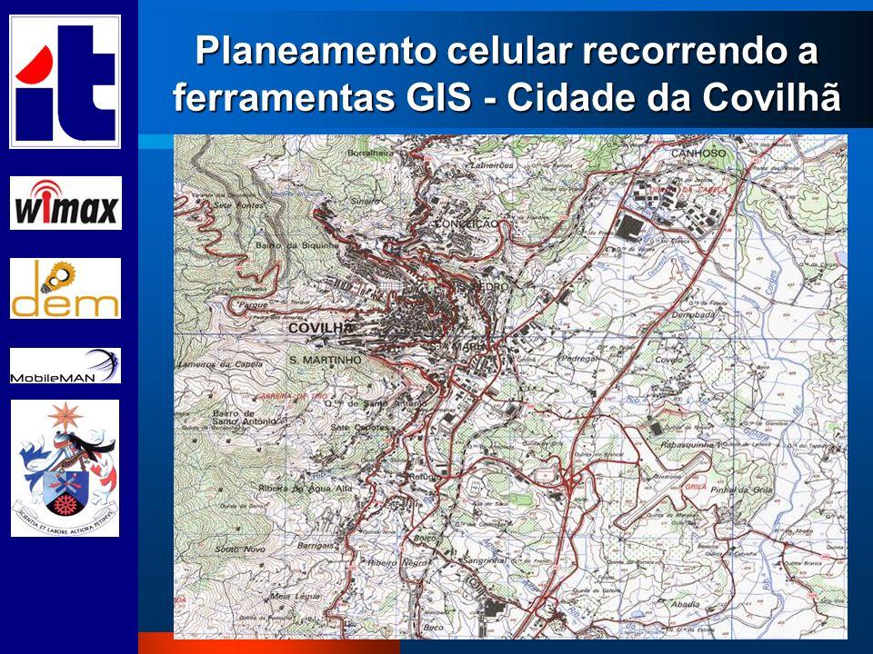 Planeamento celular recorrendo a ferramentas GIS - Cidade da Covilhã