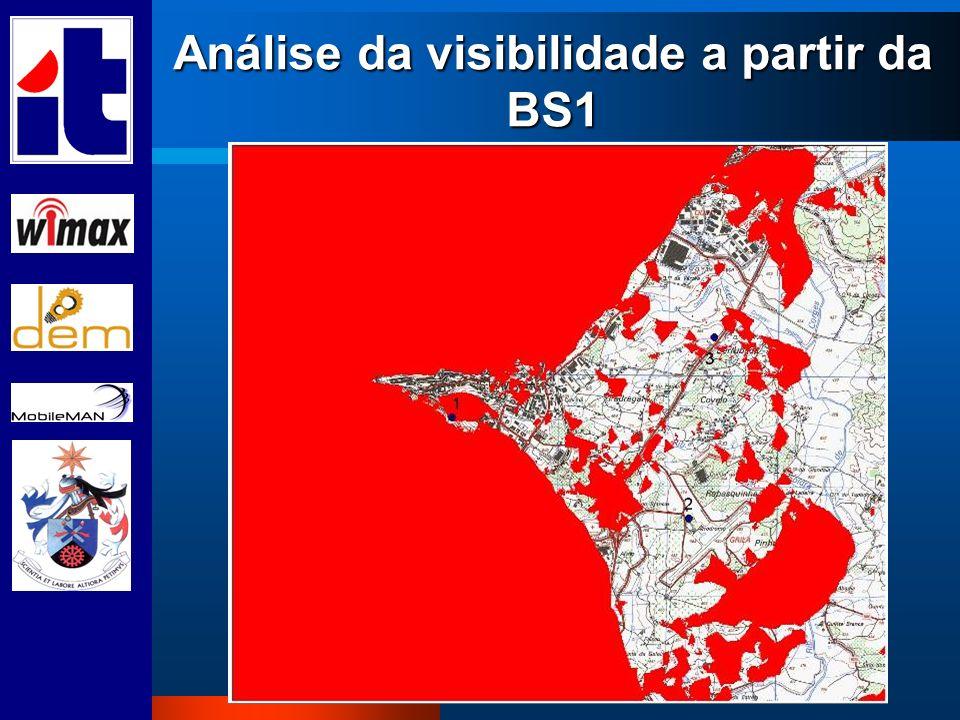 Análise da visibilidade a partir da BS1