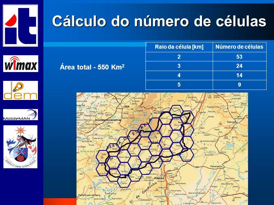 Cálculo do número de células