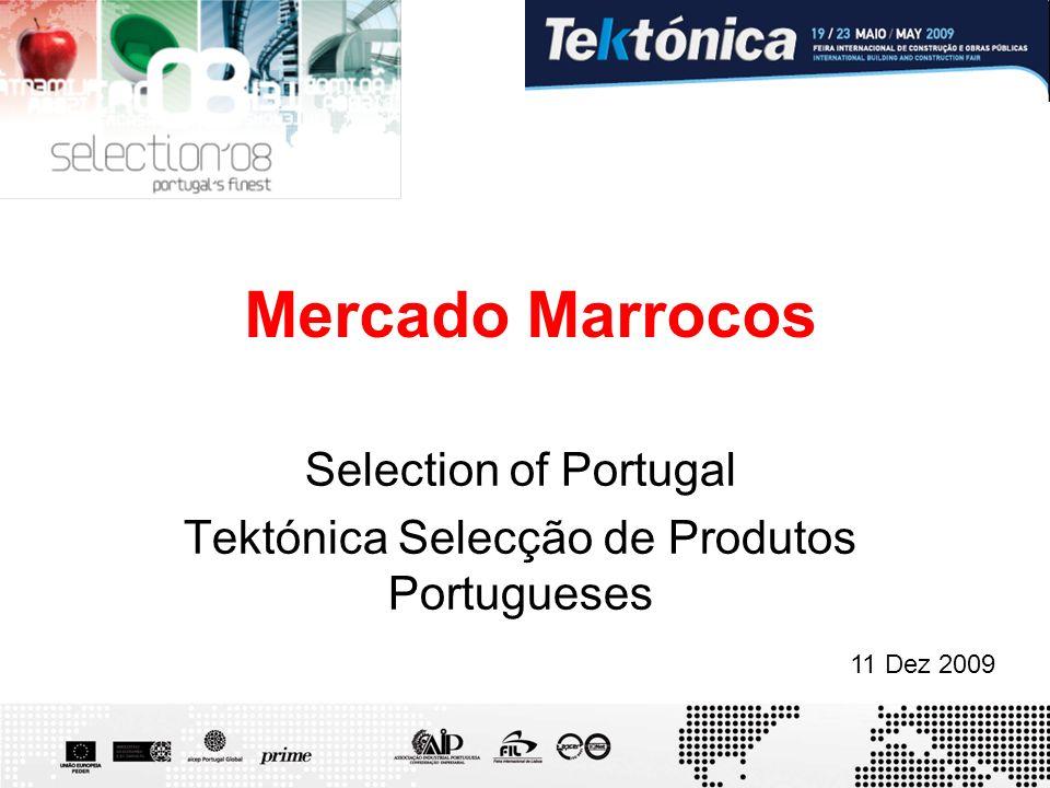 Selection of Portugal Tektónica Selecção de Produtos Portugueses