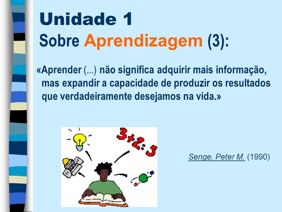 Unidade 1 Sobre Aprendizagem (3):