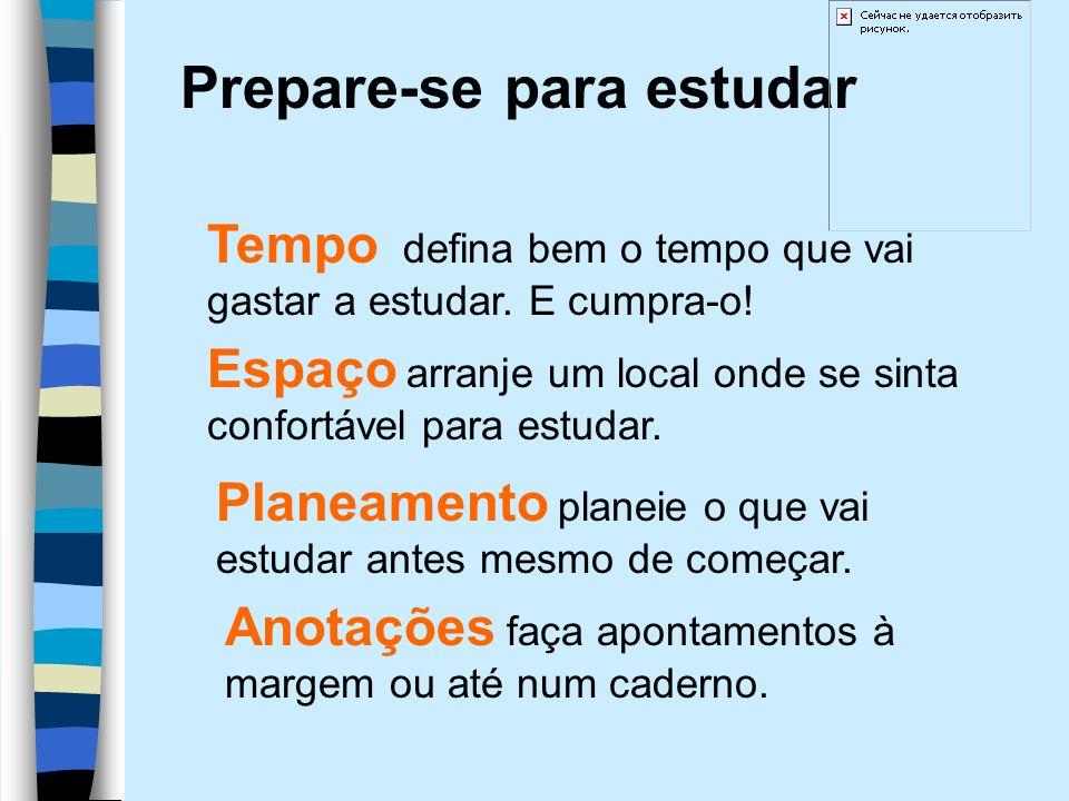 Prepare-se para estudar