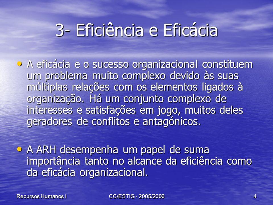 3- Eficiência e Eficácia