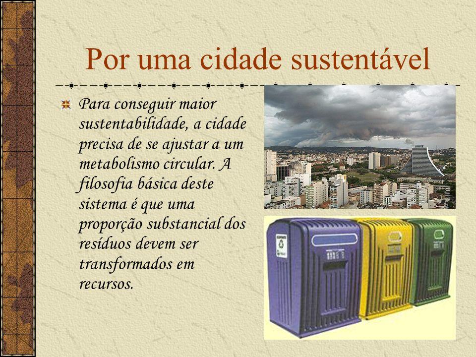 Por uma cidade sustentável
