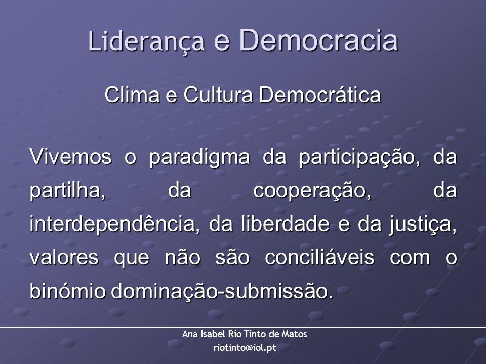 Liderança e Democracia
