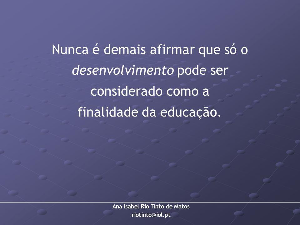 finalidade da educação.