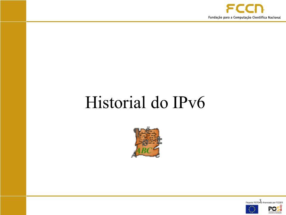 Historial do IPv6