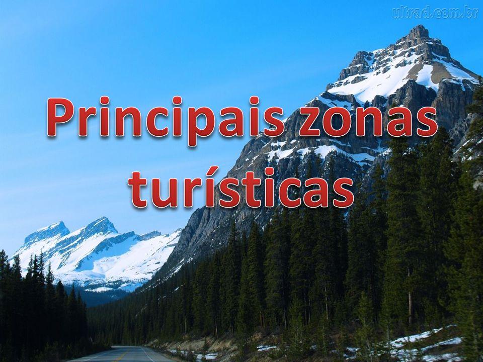 Principais zonas turísticas