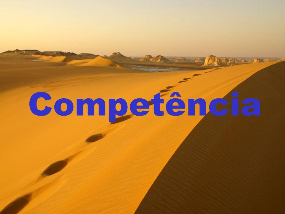 Competência PEGADA ECOLÓGICA: