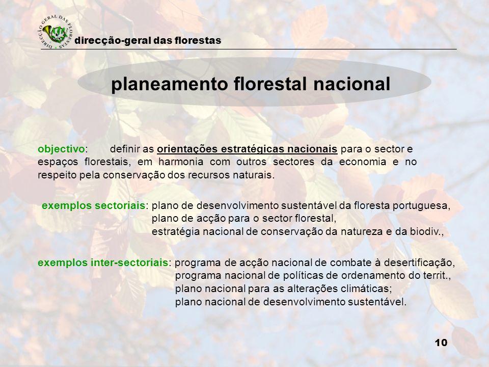 planeamento florestal nacional