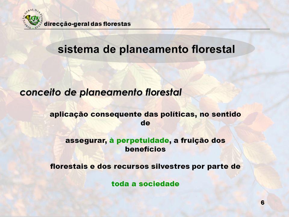 sistema de planeamento florestal