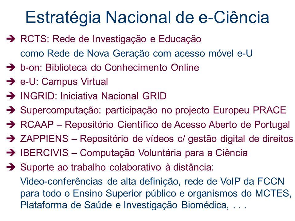 Estratégia Nacional de e-Ciência
