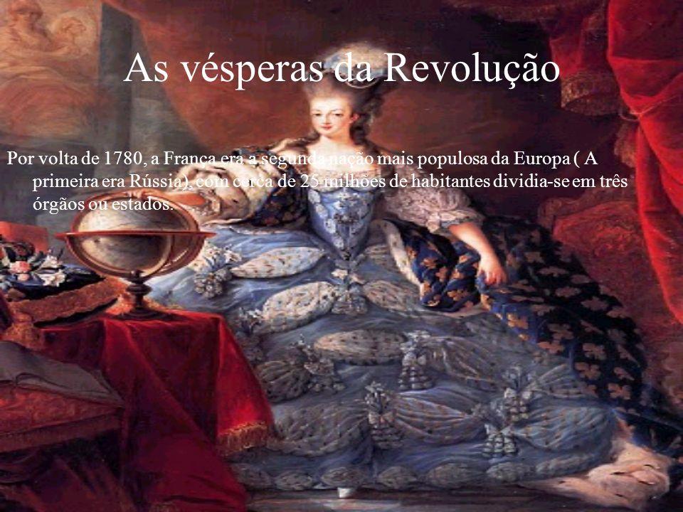 As vésperas da Revolução