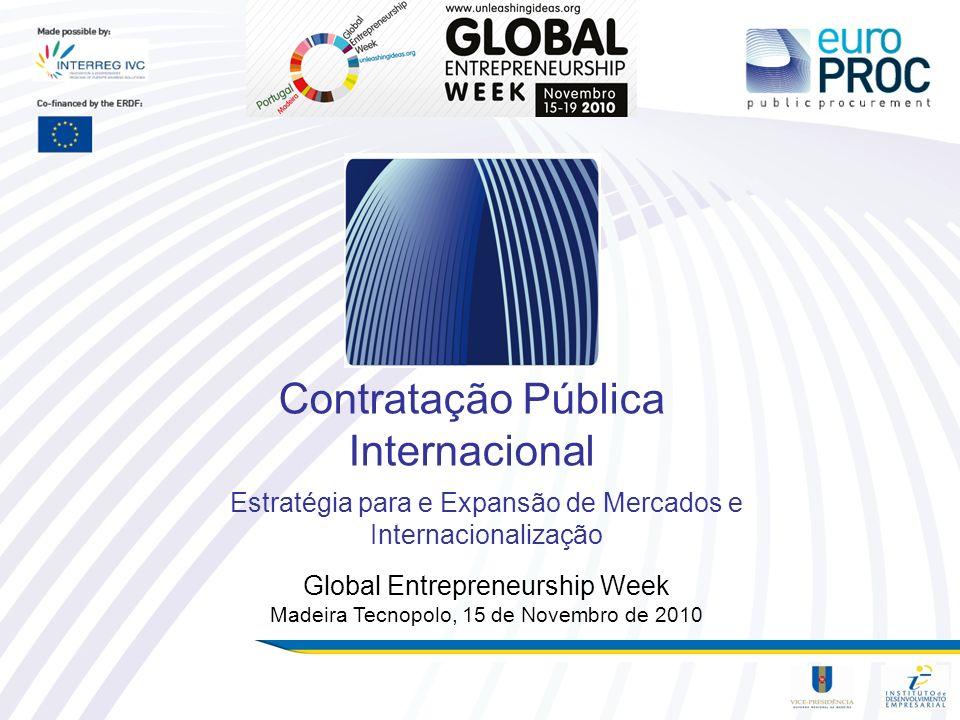 Contratação Pública Internacional