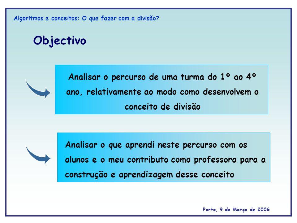 Algoritmos e conceitos: O que fazer com a divisão