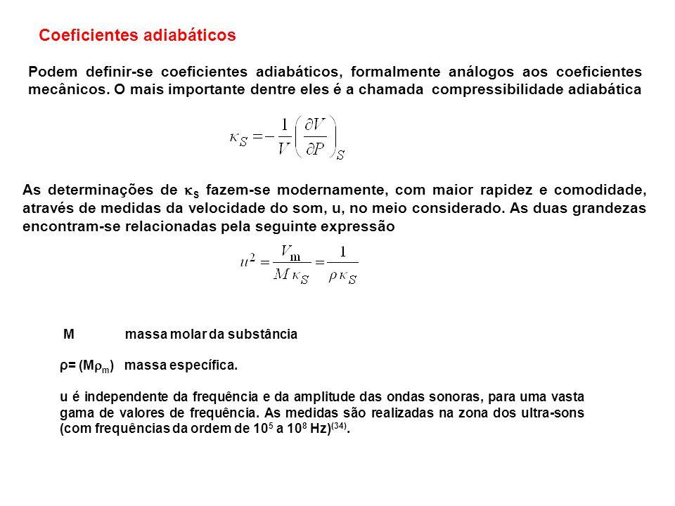 Coeficientes adiabáticos