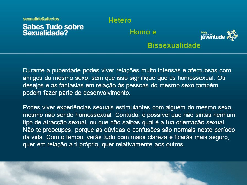 Hetero Homo e Bissexualidade