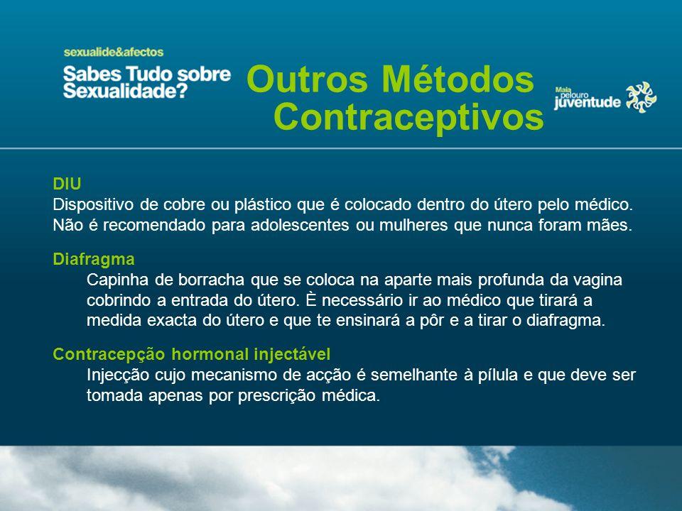Outros Métodos Contraceptivos DIU