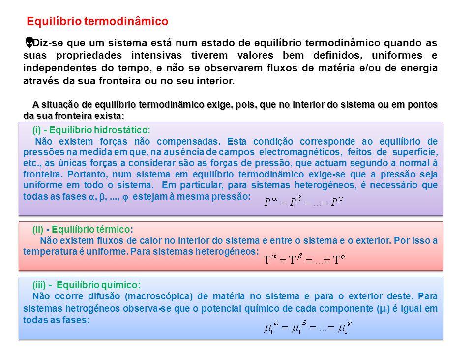 Equilíbrio termodinâmico