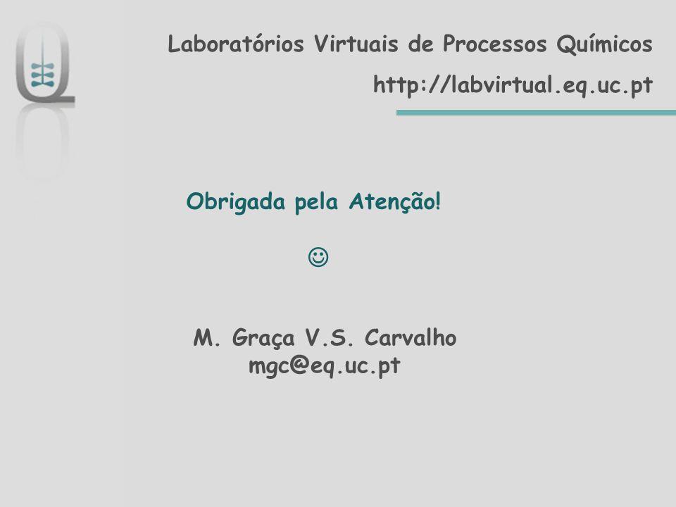 M. Graça V.S. Carvalho mgc@eq.uc.pt