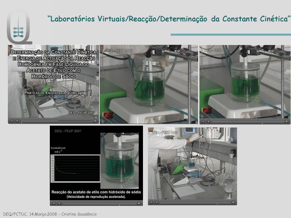 Laboratórios Virtuais/Reacção/Determinação da Constante Cinética