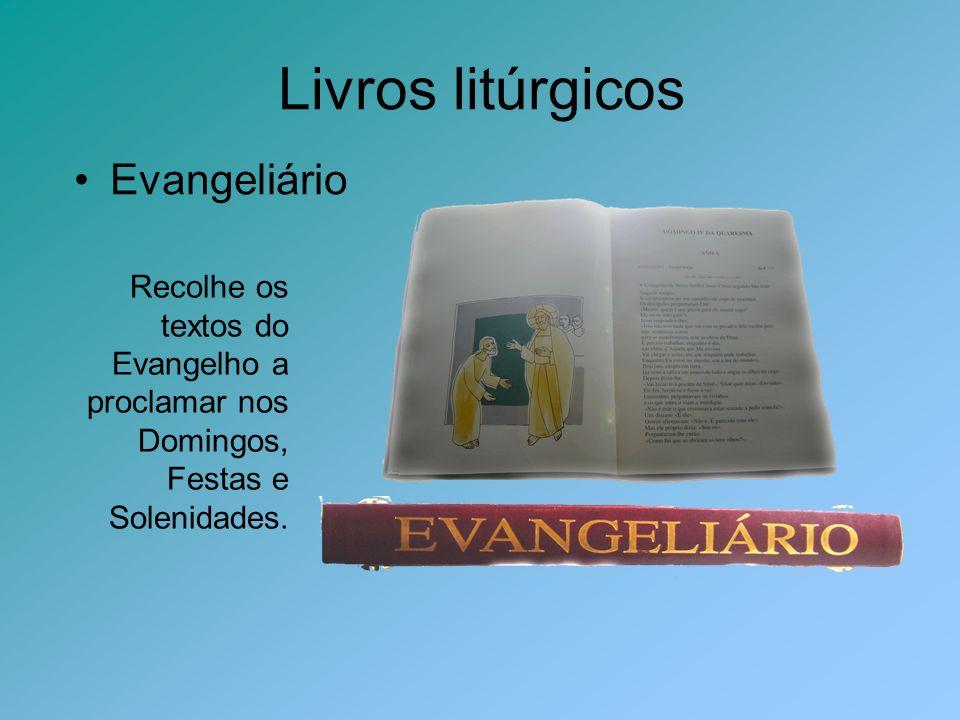 Livros litúrgicos Evangeliário