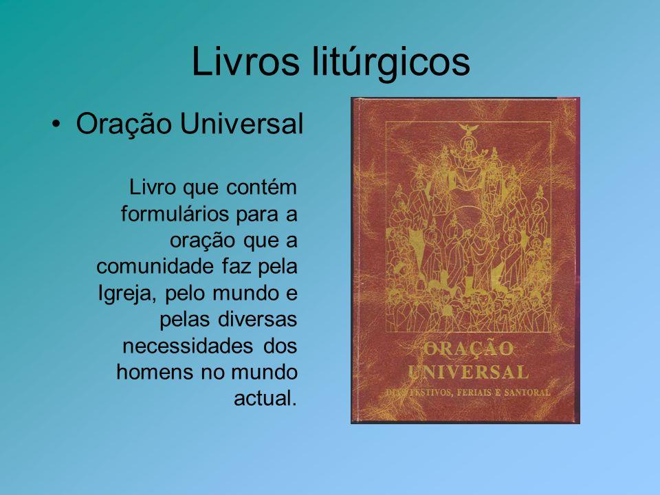 Livros litúrgicos Oração Universal