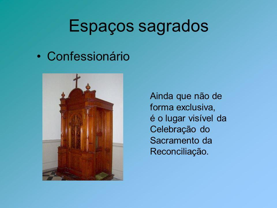 Espaços sagrados Confessionário