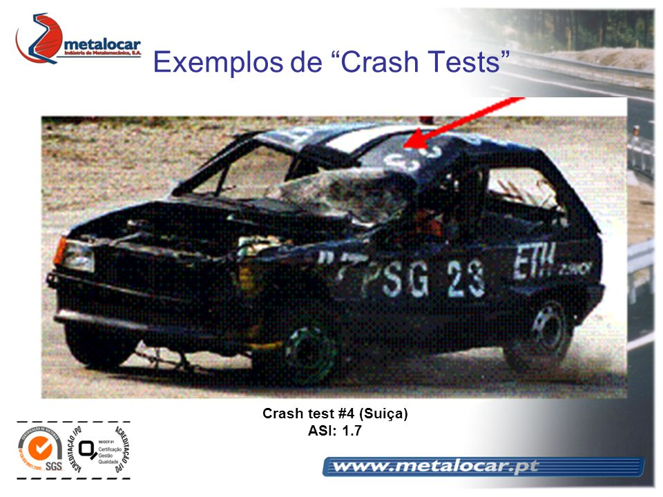 Exemplos de Crash Tests