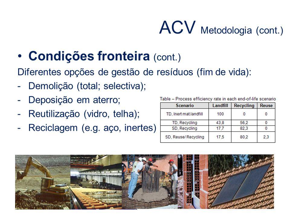 ACV Metodologia (cont.)