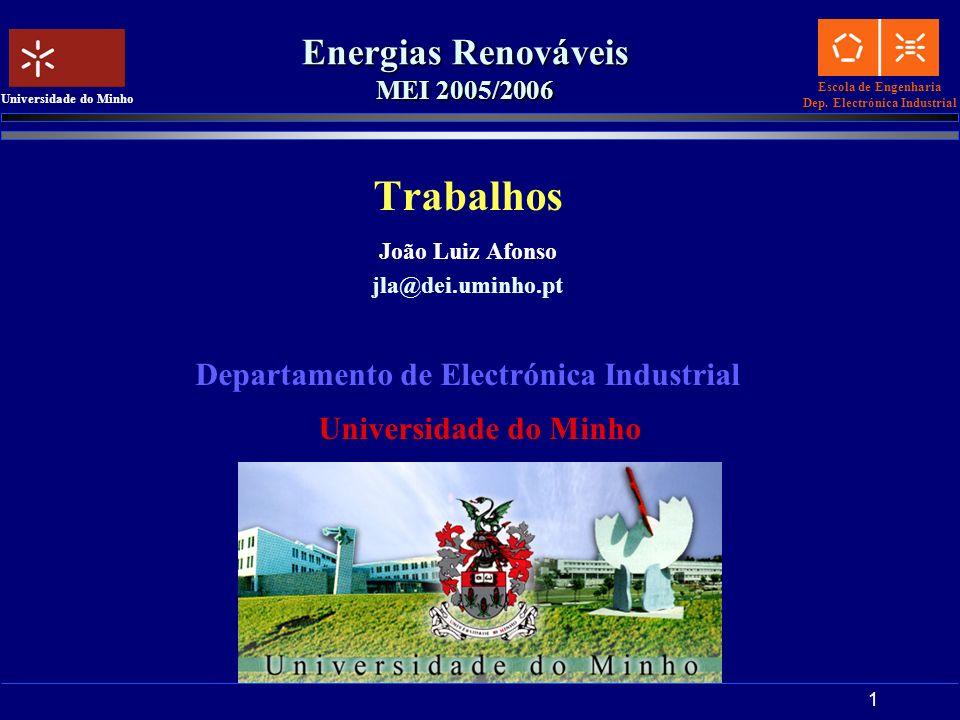 Energias Renováveis MEI 2005/2006