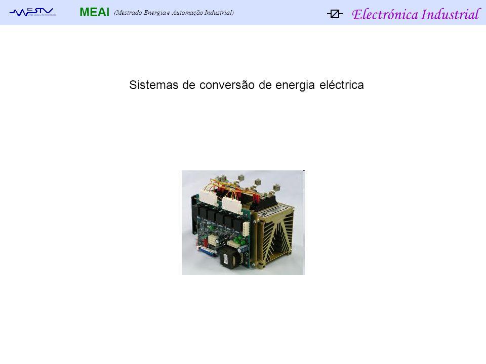 Sistemas de conversão de energia eléctrica