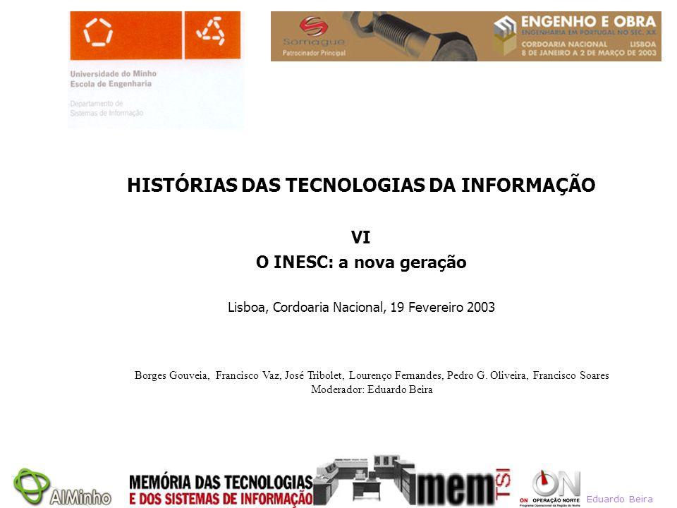 HISTÓRIAS DAS TECNOLOGIAS DA INFORMAÇÃO