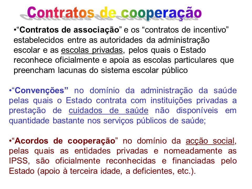 Contratos de cooperação
