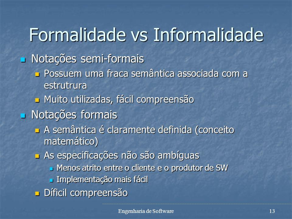 Formalidade vs Informalidade