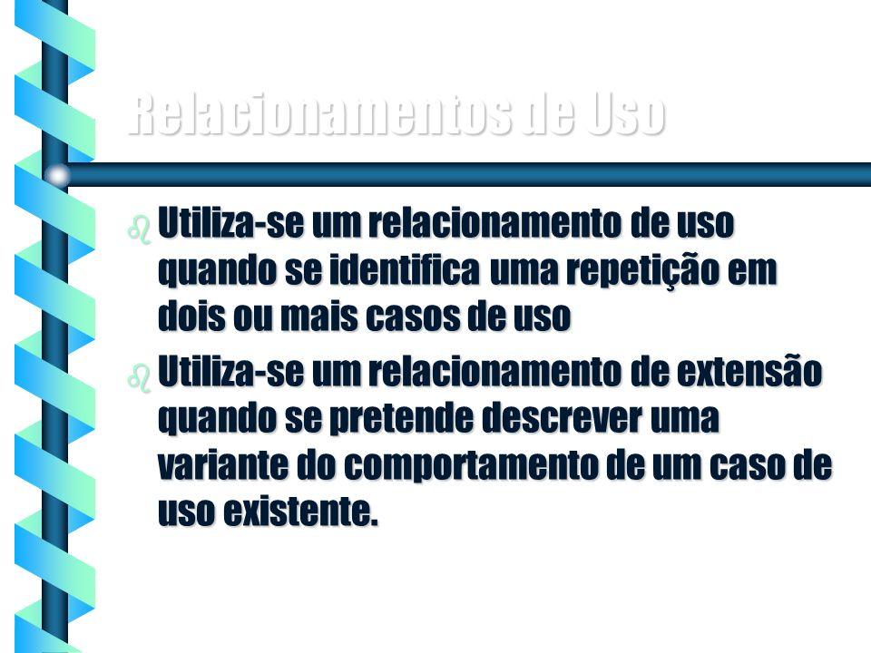 Relacionamentos de Uso