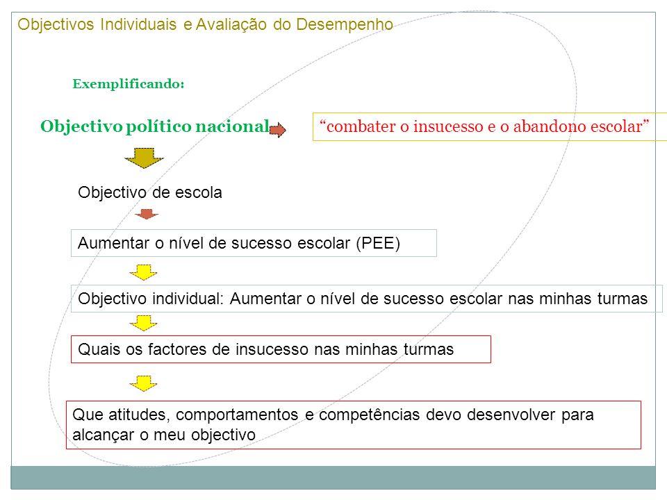 Objectivos Individuais e Avaliação do Desempenho