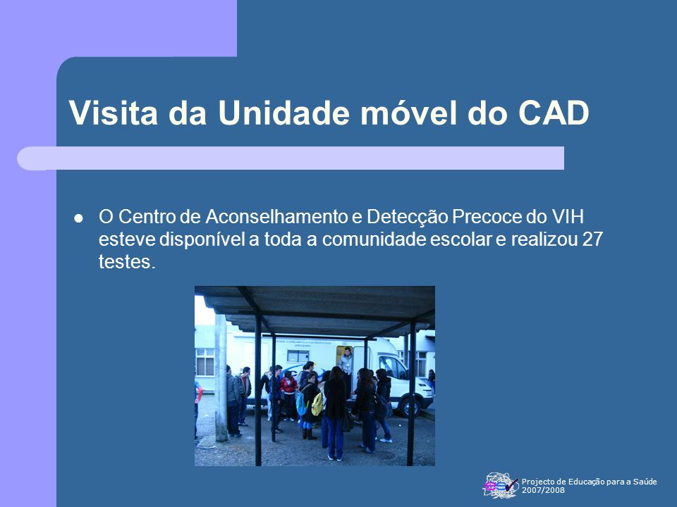 Visita da Unidade móvel do CAD