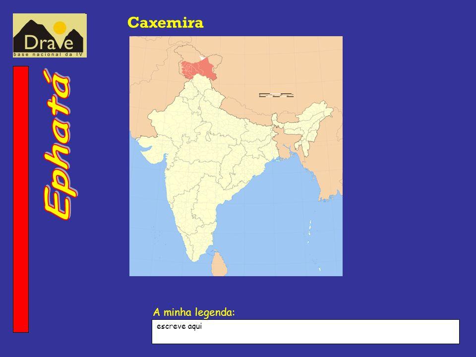 Caxemira escreve aqui