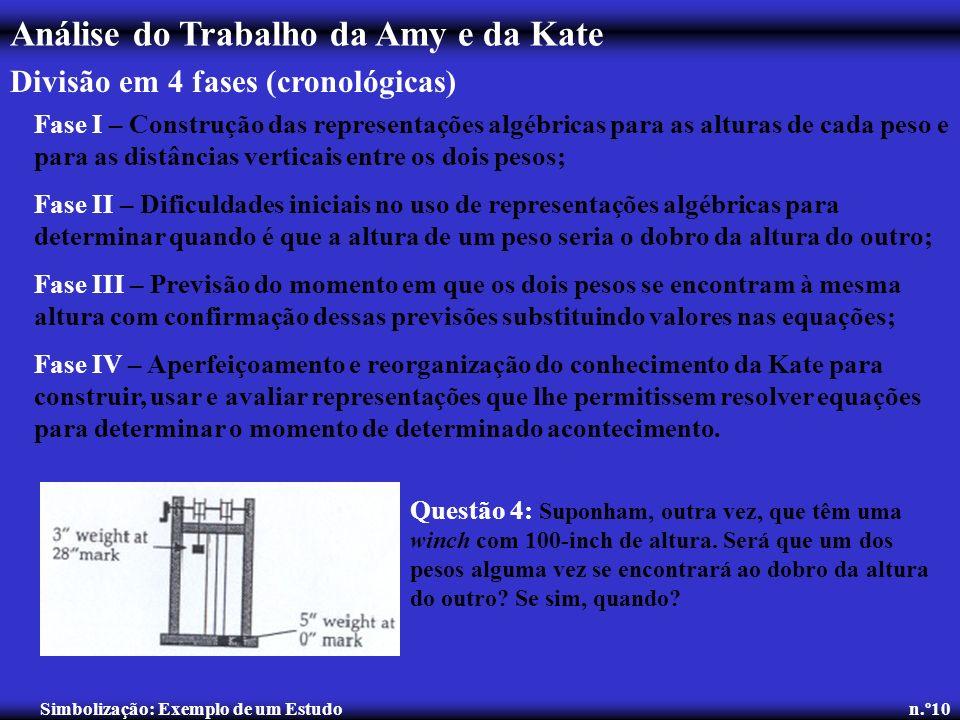 Simbolização: Exemplo de um Estudo n.º10