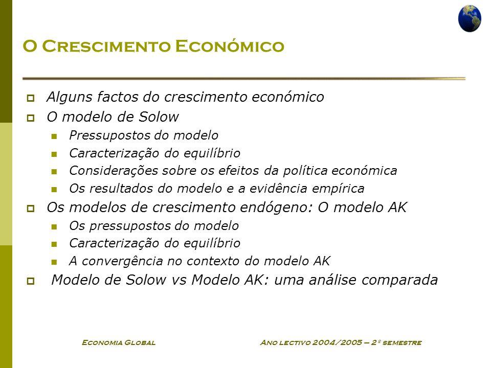 O Crescimento Económico