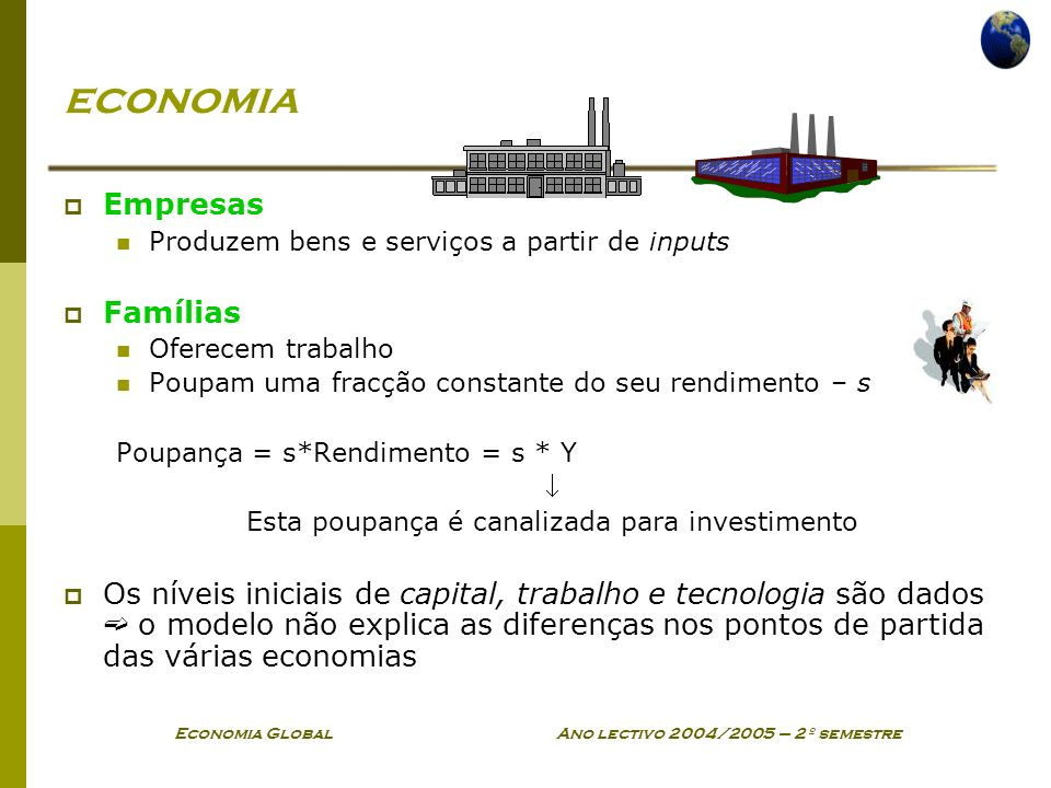 economia Empresas Famílias