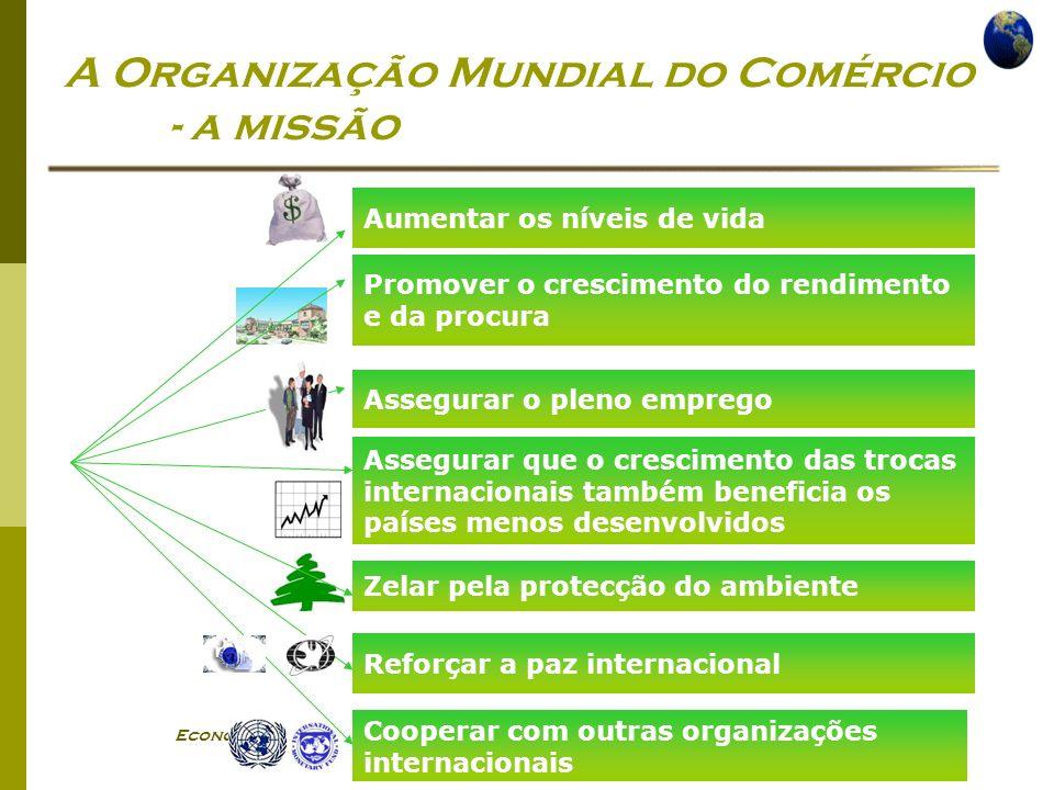 A Organização Mundial do Comércio - a missão
